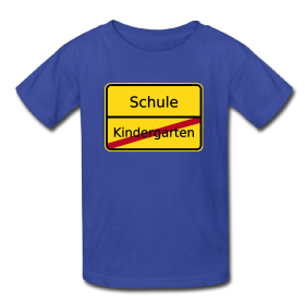 Kinder Shirt für den Schulanfang